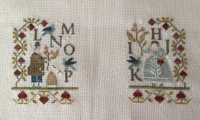 And They Sinned Cross Stitch Chart Nicoles Needlework Episode 35