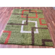stylish orange and green rug whole area rugs depot