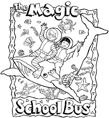 Small Picture Krazys Magic School Bus Pictures Page Coloring Home