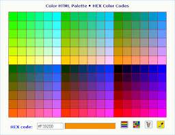 Genuine Html Hexadecimal Color Chart Chord Chart True Colors