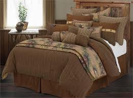 crestwood pine cone rustic comforter