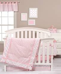 back to charming pink and gold nursery bedding