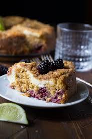Cheese Swirl Blackberry Coffee Cake