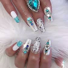 Like what you see? Follow me for more: @uhairofficial | <b>Bling nails</b> ...