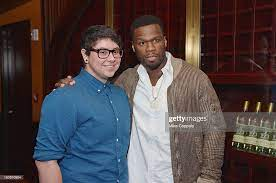 """Dream School Student Alan Delgadillo and Curtis """"50 Cent"""" Jackson... News  Photo - Getty Images"""