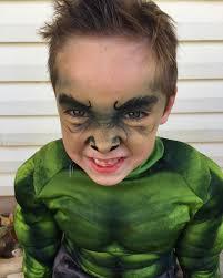 incredible hulk makeup little boys hulk makeup for