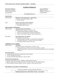 resume sample doc computer science resumes resume example undergraduate template word