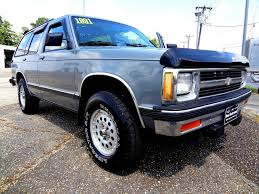 1991 Chevrolet S-10 Blazer Photos, Specs, News - Radka Car`s Blog