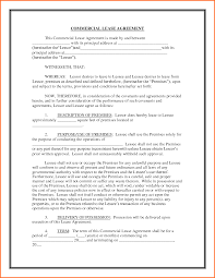 Cover Letter Standard Commercial Lease Form Standard Air Commercial ...
