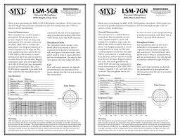 Mxl Lsm 5gr Manualzz Com