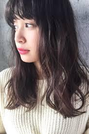抜け感暗髪ピンクアッシュ Nora Journey