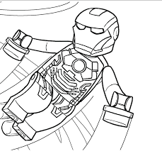 Lego Marvel Coloring Pages Packed With Avengers Coloring Page To