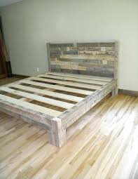 bed frame pallets queen size made out of from wood diy king bed frame pallets built from queen