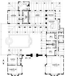 spanish house plans with courtyard hacienda floor style spanish villa house plans ranch plans