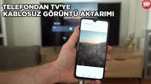 Telefondan TV'ye kablosuz görüntü aktarma - Nasıl yapılır? - YouTube