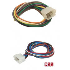whelen Whelen Gamma 2 Wiring Diagram whelen 9 and 12 pin cable plug kit cencom gold Whelen Strobe Light Wiring Diagram