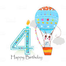 Image result for happy 4th birthday cat
