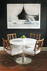 dining room decor idea use oversize art to style your e this simple style trick makes a splash with minimal effort from you