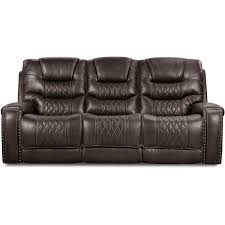charcoal gray power sofa desert rc