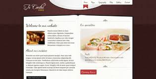 Restaurant Website Templates Beauteous CMS Script Website Templates From ThemeForest