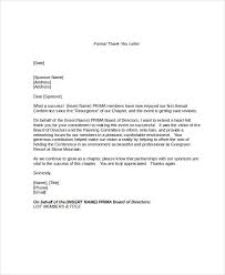 Formal Letter Format Formal Letter Format Sample Example Template Source Template