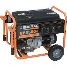 generac gp watt portable generator manual start