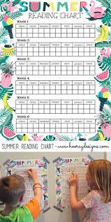 Summer Book Reading Chart Hooray Summer Reading Chart Book Favorites