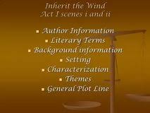 inherit the wind essay best annotated bibliography proofreading inherit the wind essay