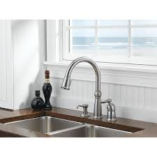 Delta Pull Down Kitchen Faucet Kitchen Faucets Get A Modern Or Traditional Kitchen Sink Faucet