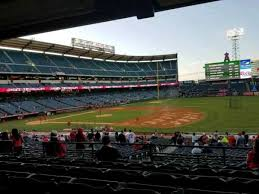Angel Stadium Section T225 Home Of Los Angeles Angels Of