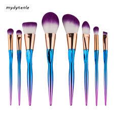 8pcs soft pro makeup brushes set blending eyeshadow powder contour foundation brushes super hourse hair cosmetic