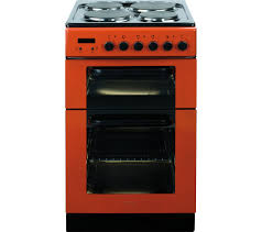 Baumatic Kitchen Appliances Buy Baumatic Bce520r Electric Solid Plate Cooker Red Free
