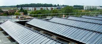 Solar Air Heating solarduct solarwall modular rooftop