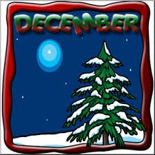 Clip Art Month Graphic December Color I Abcteach Com Abcteach