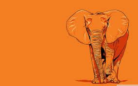 Elephant Art Wallpapers - Wallpaper Cave