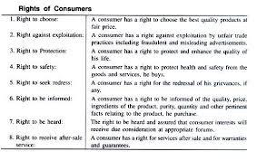 essay on consumerism right of consumers