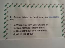 new jersey dmv permit driving knowledge test practice exam 316 questions answers 1 10