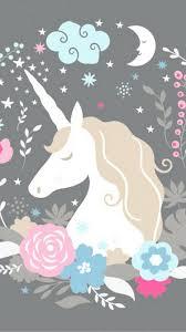 Cute Girly Unicorn iPhone 7 Wallpaper ...
