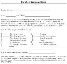 charitable contribution receipt letter non profit tax deduction letter template or donation receipt letter