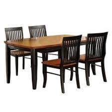 venetian worldwide earlham 5 piece dining set brown
