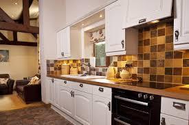 Cottage Kitchen Kitchen Zigzag Pattern Floor On Full White Cottage Kitchen Feat