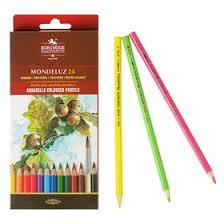 <b>Карандаши цветные</b> акварельные 24 цвета, <b>Koh</b>-I-<b>Noor</b> ...
