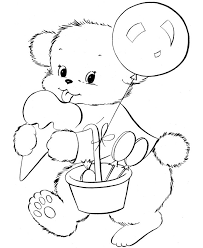 Small Picture 15 best Teddy bears colourung images on Pinterest Coloring books