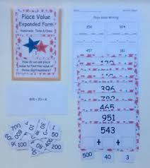 Hundreds Tens Ones Pocket Chart Details About Teacher Made Math Center Game Place Value Expanded Form Hundreds Tens Ones