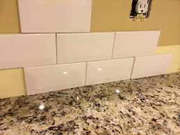 Off White Subway Tile awesome off white subway tile backsplash pictures design 8185 by xevi.us
