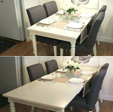ikea white dining table ike round room sets and chairs