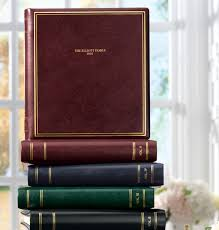 Personalized Presidential Leather Album