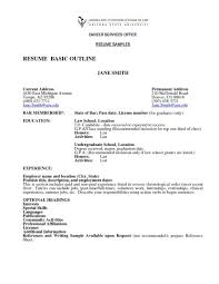 Basic Resume Template 51 Free Samples Examples Format Sample