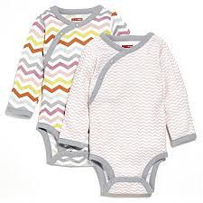 Skip Hop Baby Girls Girls Side Snap Long Sleeve Bodysuit