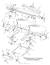 Simplicity 2690476 javelin 20hp kohler rider w38 mower parts diagram 38 42 mower deck lift group ja3842dl simplicity 2690476 javelin 20hp kohler